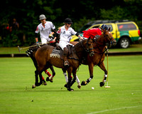 "2015 ""The London Polo Club."" ""Club Match "".""Avengers vs Braemar Farms""."