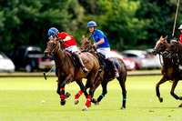 "2016.""London Polo Club 90th Anniversary"", ""Stagshead Trophy"","" Team Red"",""Team Blue""."