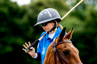 The Stagshead Trophy-Young England Polo Players.
